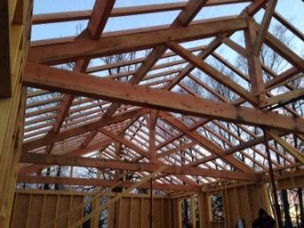 Maison ossature bois à Angoisse (24270)