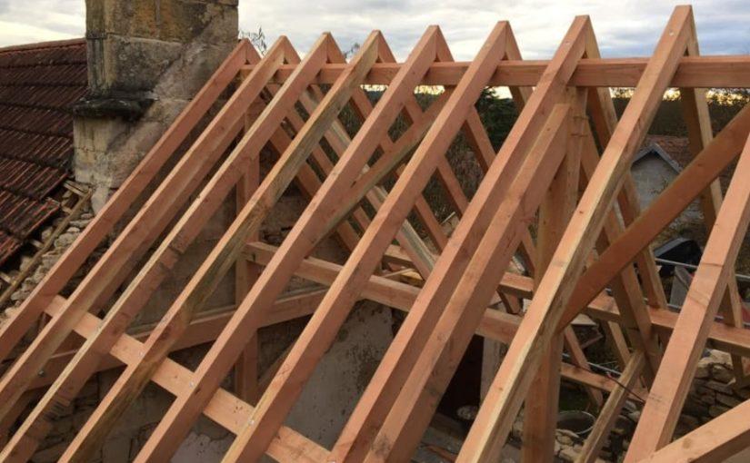 Réfection charpente, pénétration toiture